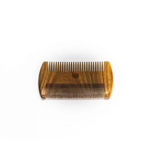Double Sided Beard Comb Signature series Sandalwood