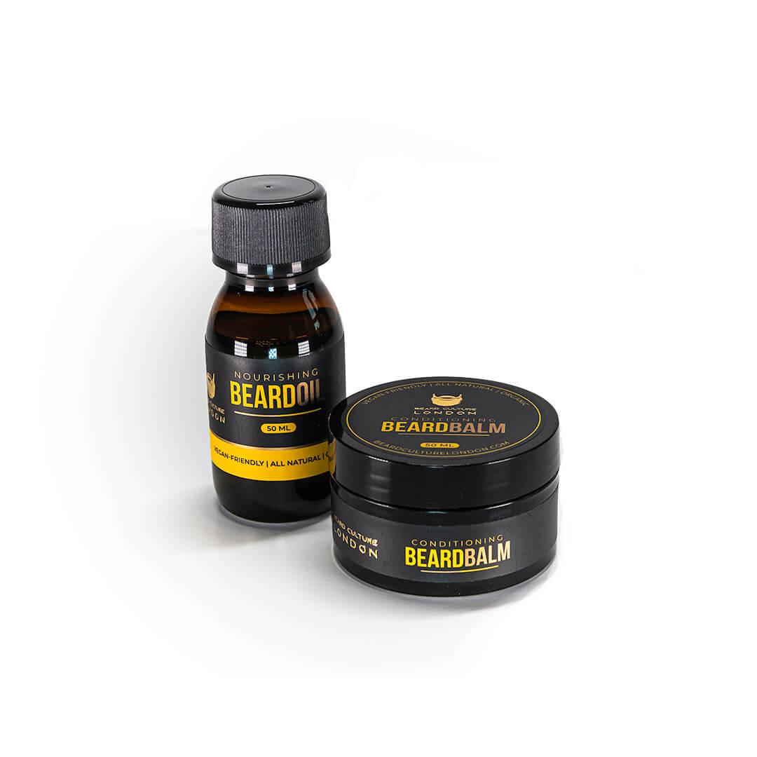Beard Oil and Beard Balm Original Bundle
