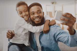 Father's day offer 2021 - Father and daughter image